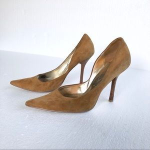 🔥Guess Suede Pointed-toe Pumps